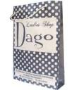 DAGO, Ukuran 22 x 6,5 x 32 cm, Bahan Kraft Coklat , 1 Warna