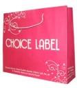Choice Label, Ukuran 34 x 9 x 32 cm, Bahan Kraft putih 150 grm, 1 Warna