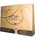 tas Kertas POP, Ukuran 30 x 7 x 23 cm, Kraft Coklat 125 Gr, 1 Warna